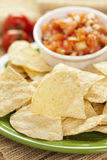 Tortilla Chips and Salsa Royalty Free Stock Images