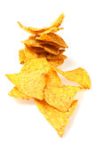 Tortilla chips slices Royalty Free Stock Image