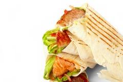 Tortilla con los vehículos Fotos de archivo libres de regalías
