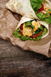 Tortilla délicieuse Photographie stock libre de droits