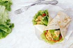 Tortilla délicieuse Images stock