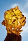 Tortilla de camarones på panelljuset Royaltyfri Fotografi
