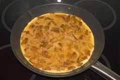 Tortilla de huevos Imagen de archivo libre de regalías