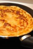Tortilla de huevos Imagenes de archivo