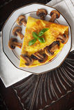 Tortilla de huevos Imagen de archivo