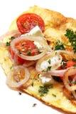Tortilla de huevos Fotos de archivo
