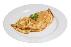 Tortilla de huevos del queso Fotografía de archivo libre de regalías