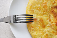 Tortilla de patatas, ισπανική ομελέτα Στοκ Εικόνες