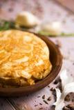Tortilla de patatas, испанский омлет Стоковое фото RF