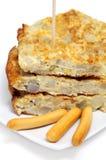 Tortilla de patatas Stock Image