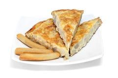 Tortilla de patatas Royalty Free Stock Images