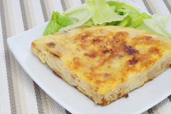 Tortilla de patatas Photographie stock