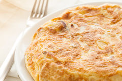 Tortilla de patatas Royalty Free Stock Images