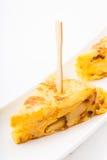 Tortilla de Patatas Lizenzfreie Stockfotos