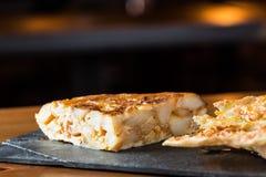Tortilla de patatas Photos libres de droits