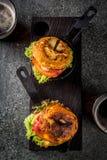 Tortilla de patatas rellena de jamón serrano Royalty Free Stock Photography