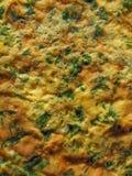 Tortilla del cilantro del perejil Imágenes de archivo libres de regalías