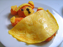 Tortilla del oso de peluche Foto de archivo