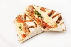 Tortilla en el vector Fotos de archivo