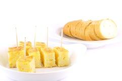 Tortilla española. Foto de archivo libre de regalías