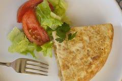 Tortilla española Foto de archivo libre de regalías