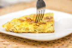 Tortilla espanhol imagens de stock royalty free
