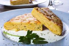 Tortilla espanola Royalty Free Stock Photos