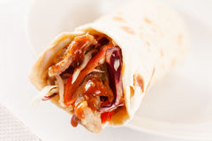 Tortilla fajita wraps Stock Images