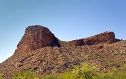 Tortilla Flats Montains, AZ Royalty Free Stock Images