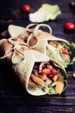 tortilla meksykański opakunek obraz royalty free