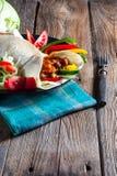 Tortilla met Spaanse peper Royalty-vrije Stock Afbeelding