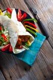Tortilla met Spaanse peper Royalty-vrije Stock Foto's