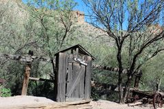 Tortilla mieszkanie, mała niezarejestrowana społeczność w wschodnim Maricopa okręgu administracyjnym, Arizona, Stany Zjednoczone obrazy stock