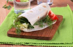tortilla opakunek obraz stock