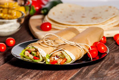 Tortilla opakunek obrazy royalty free