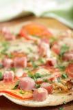 Tortilla pizza Royalty Free Stock Photos