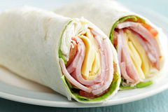 Tortilla roll-ups Stock Photography
