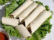 tortilla's Stock Afbeeldingen