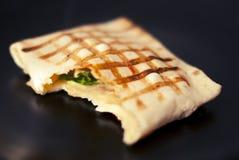 Tortilla sandwich Royalty Free Stock Photo