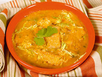 Tortilla soup Royalty Free Stock Image