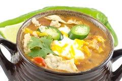 Tortilla Soup Stock Photography