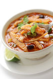 Tortilla soup, mexican cuisine Stock Photography
