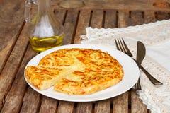 Tortilla  - spanish omelette Stock Images