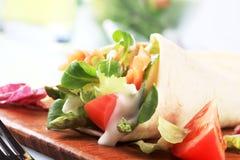 Tortilla wrap Stock Photos