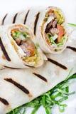 Tortilla Wrap Royalty Free Stock Photography