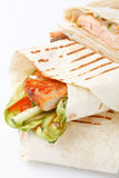 Tortilla wrap Stock Photo