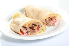 Tortilla wrap Stock Photography