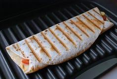 Tortilla, wrap, fajita Stock Photo