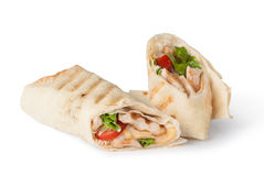 Tortilla wrap, fajita Royalty Free Stock Image