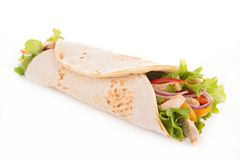 Tortilla wrap Stock Images